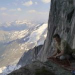 East Face new route Snowpatch Spire 2014 Bugaboos