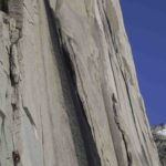East Face of Snowpatch 2014 new route Simon Miess