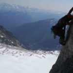 Summit of Hound's Tooth Bugaboos - Altus Mountain Guides.com