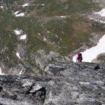 Mount Gimli South ridge