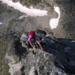 Mount Gimli South Ridge pitch 7