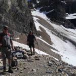 Hiking to Abbot Pass