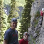 Lake Louise Rock Climbing 2014 Altus