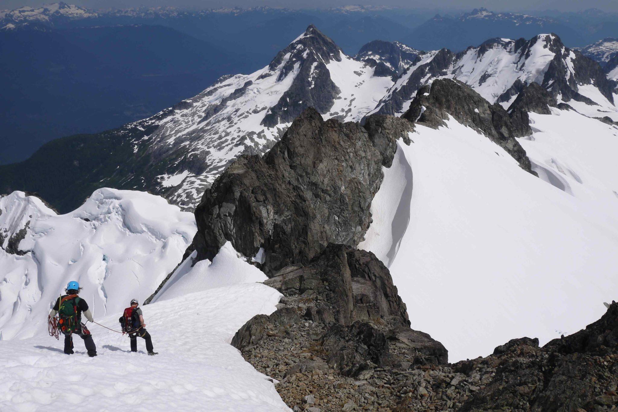 Tantalus Range  - Descending Mount Dione
