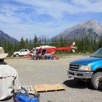 Flights into Mount Assiniboine