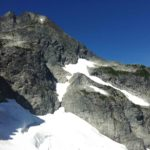 Mount Tricouni North Ridge - from NE