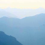 Smokey day on the Mount Assiniboine