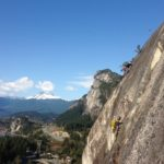 Spring is here! Rock climbing in Squamish