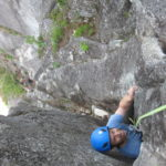 Birds of Prey Squamish Rock climb 5.10a pitch upper