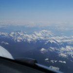 Flying over the Monashee Mts