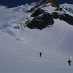 Skiing Tusk Glacier