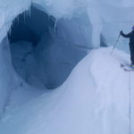 Crevasse on Mt. Clemenceau