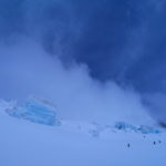 Skiing Mt Clemenceau
