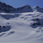 Ski Track Tusk Glacier