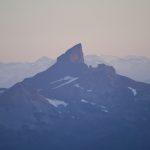 Black Tusk at sunrise Crosby Johnston photo altus mountain guides