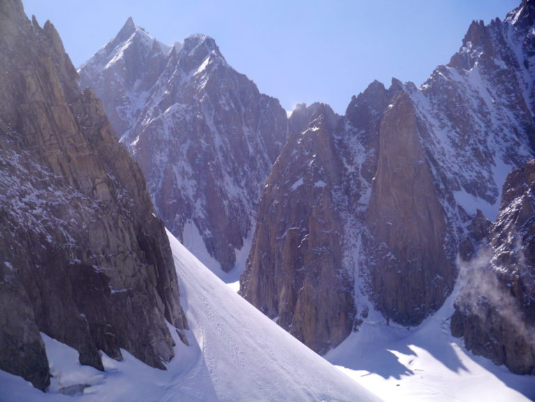 Grand Capucin and du Tacul of Mont Blanc