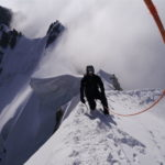 Guided climbing mountaineering Chamonix Mont Blanc Dent du Geant / Arete Rochefort