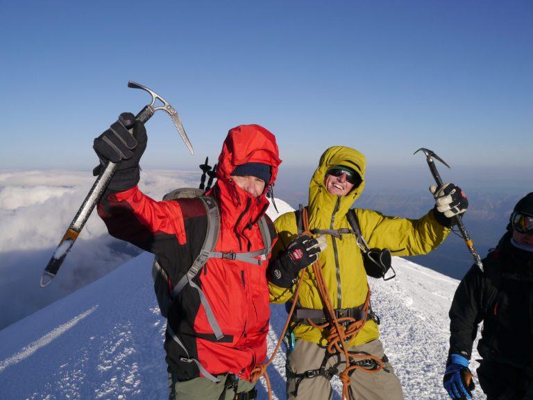 Summit of Mont Blanc Chamonix