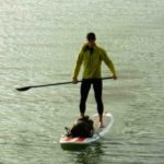 Stand Up Paddle Climbing Adventure