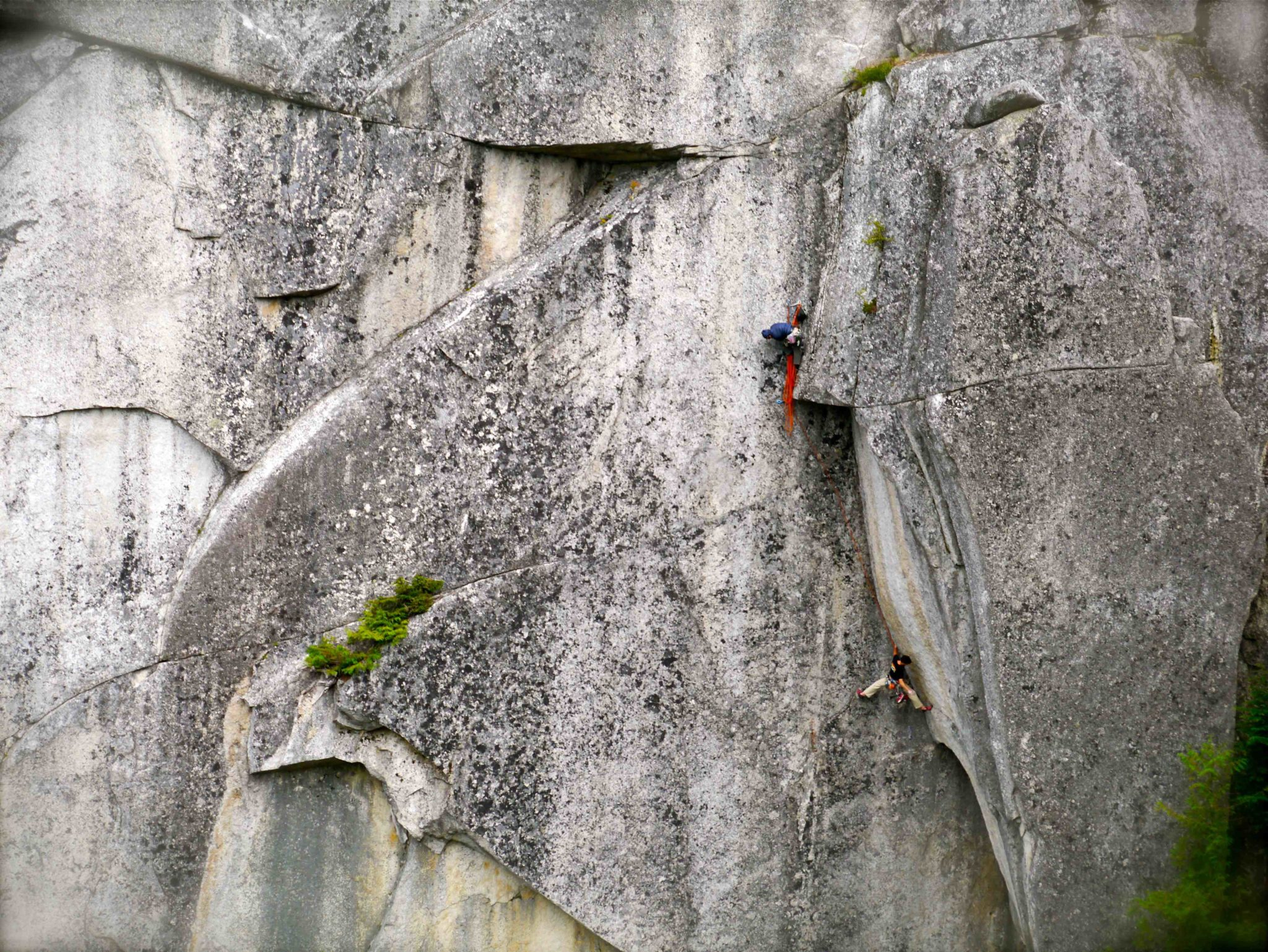 The Prow Wall Squamish BC Rock Climbing