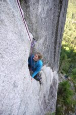 Squamish multi pitch climbing, Angels crest