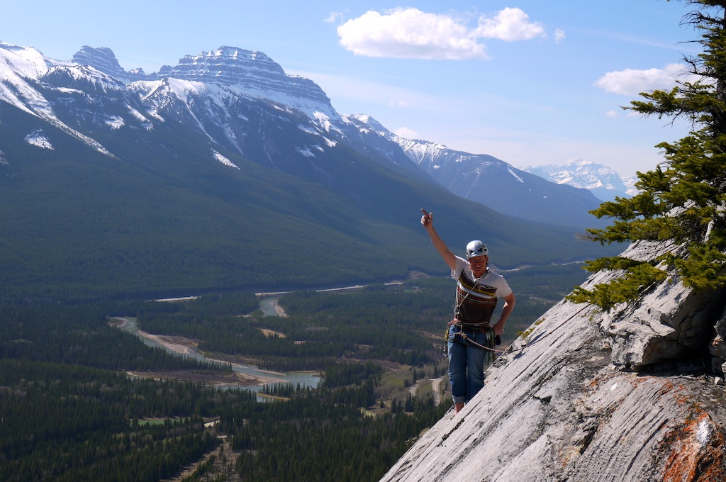 """Topping out the amazing """"Paper Chase"""" 5.11"""