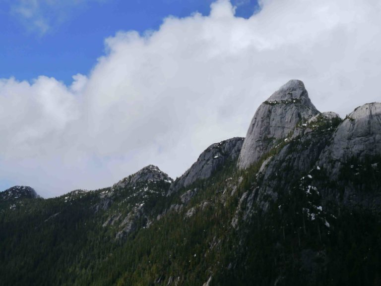 Mt Habrich from Sky Pilot Mt. Squamish