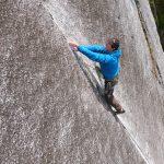 Squamish Rock Climbing – Exasperator Crack 5.10c  VIDEO
