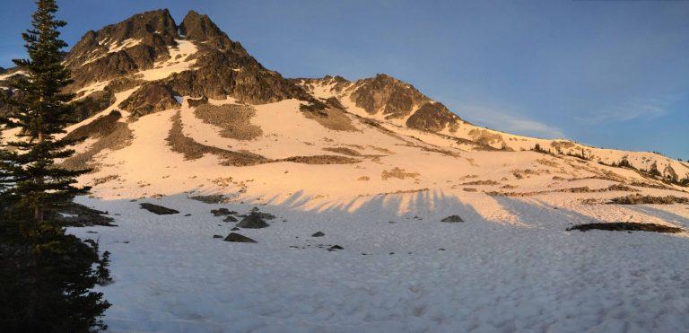 blackcomb buttress - whistler mountaineering 5