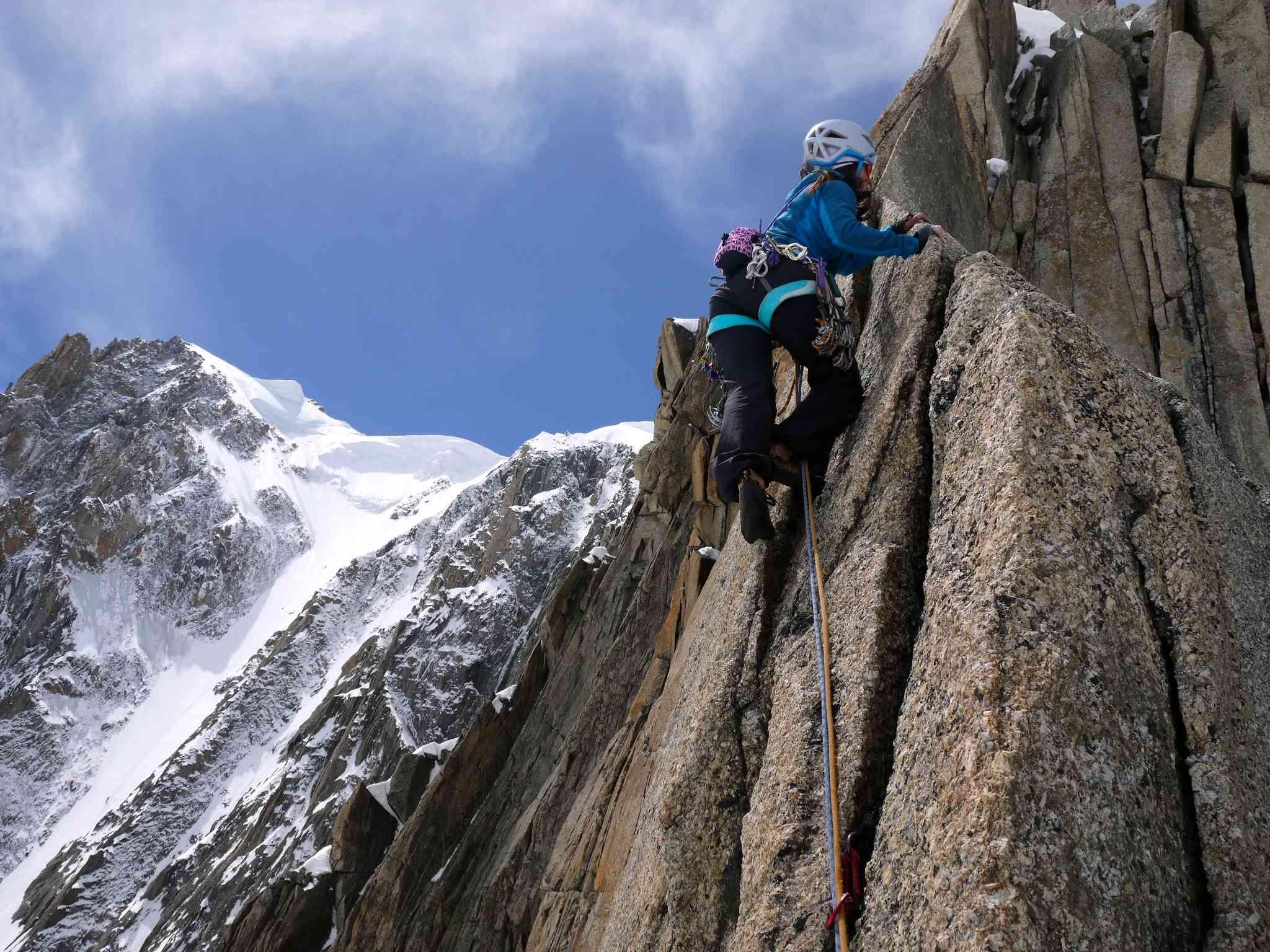 Pointe Lachenal, Harold e Maud Chamonix Rock Climbing