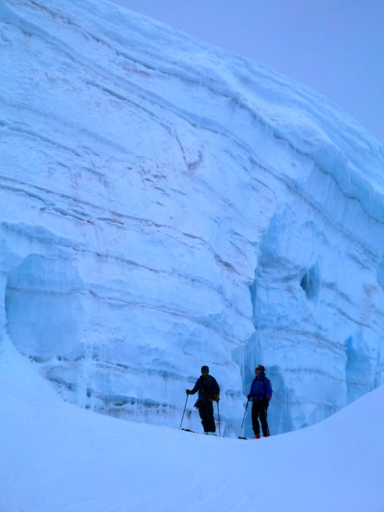 Mt. Clemenceau Ice Wall