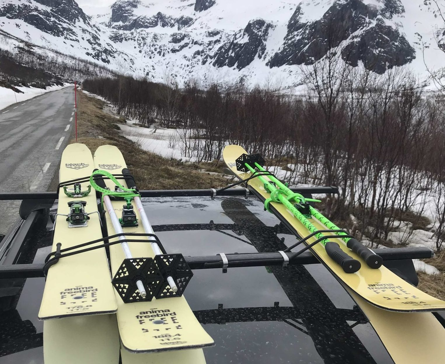 Skis in norway