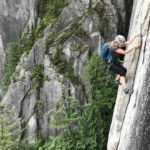 Top 5 Beginner Trad Climbs in Squamish