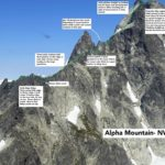 Alpha Mountain – NW ridge