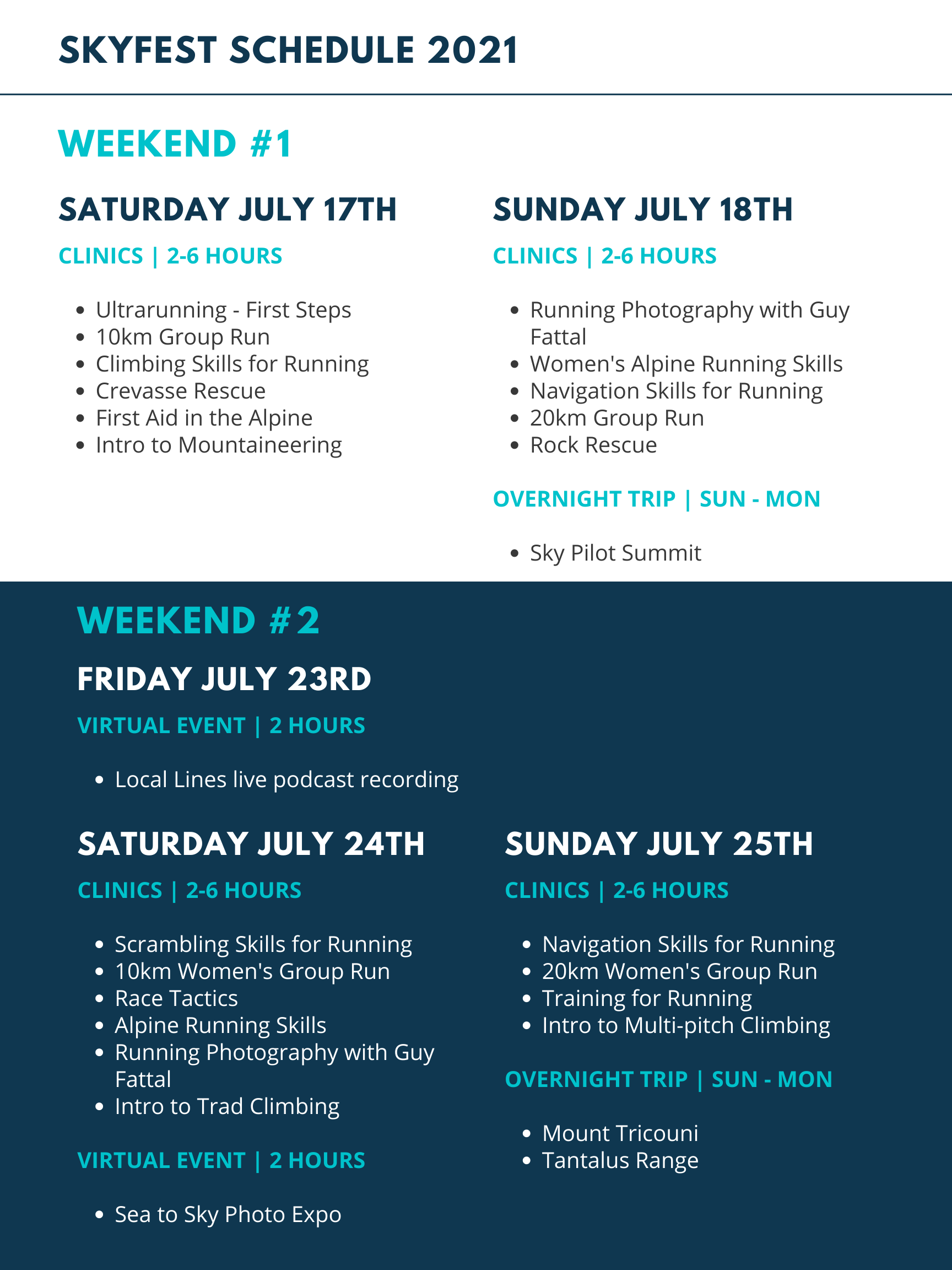Skyfest schedule (2)