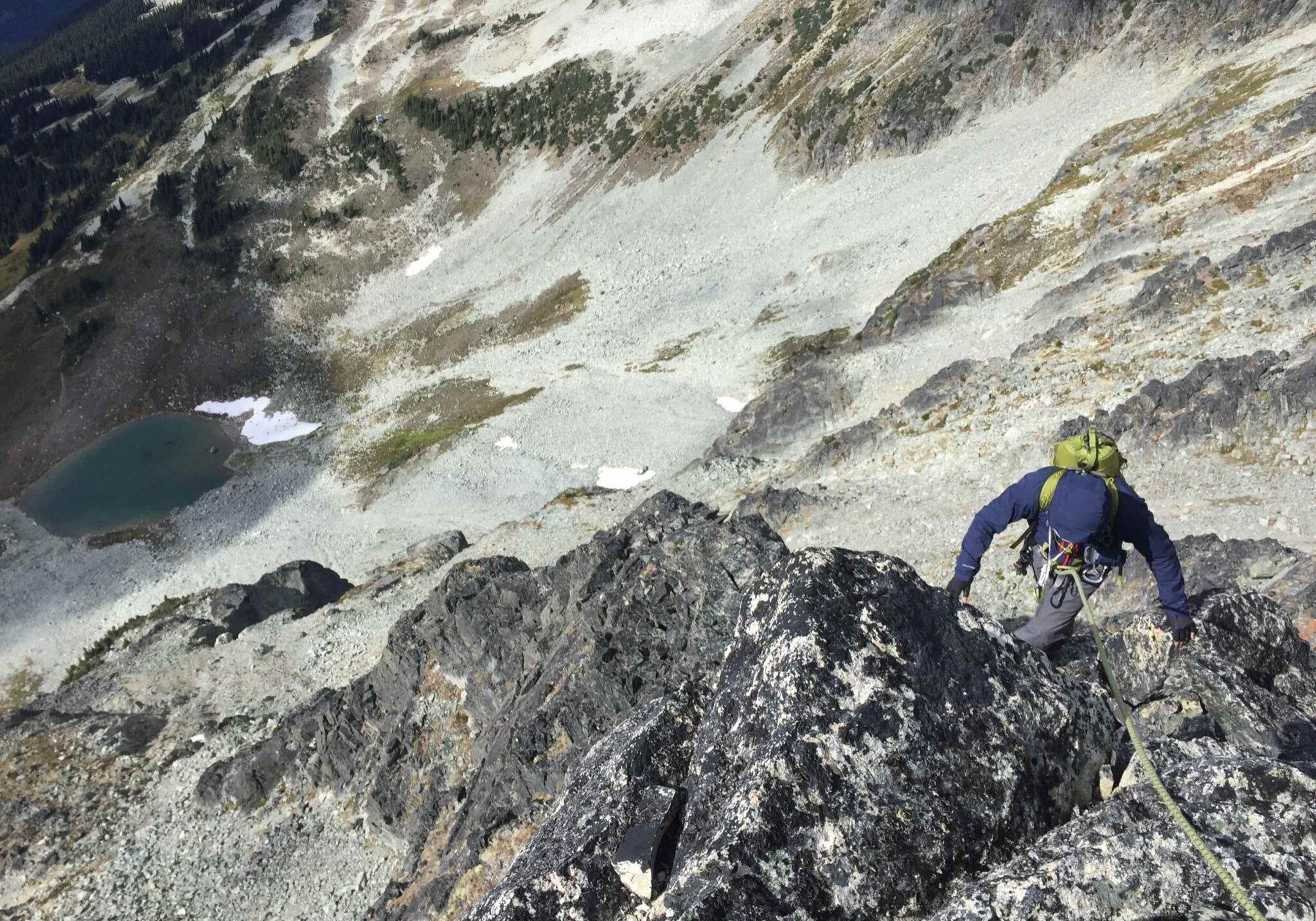 Blackcomb buttress - whistler mountaineering 3