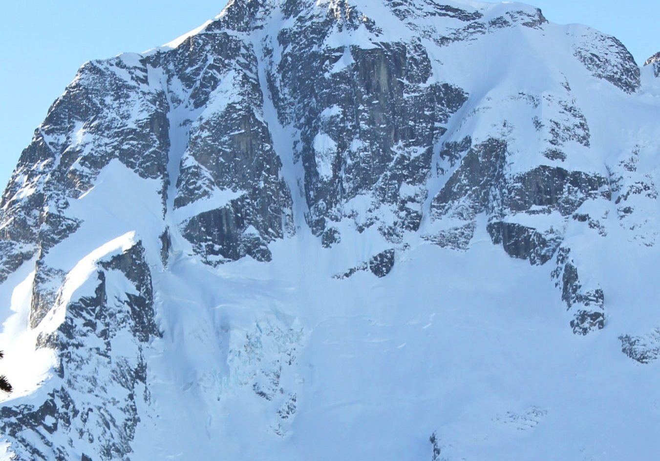 Mount Joffre North Face Couloirs