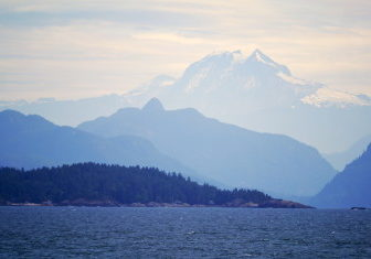 Mt Garibaldi and Howe Sound