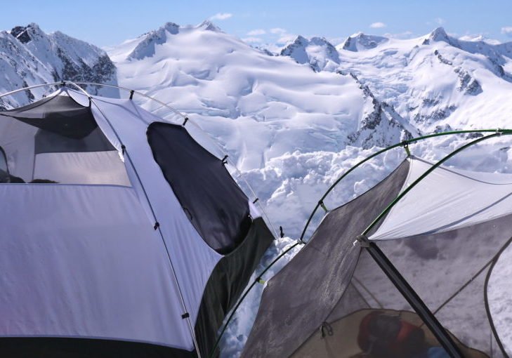 spearhead traverse camp 1