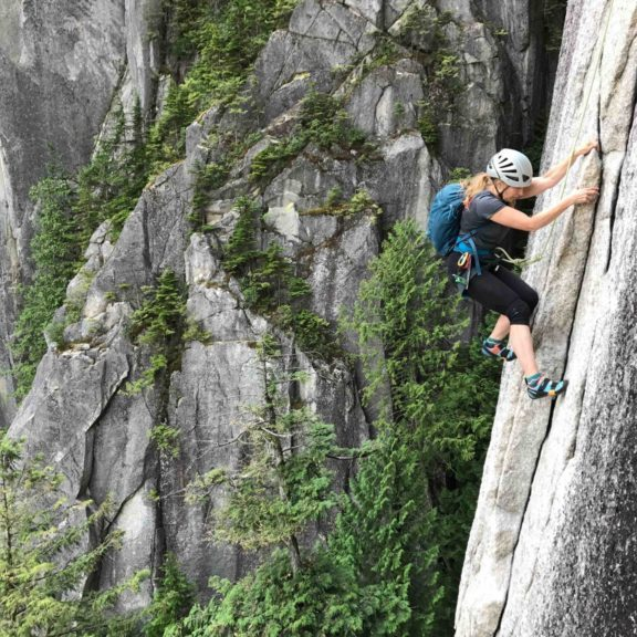 Squamish rock climbing experience