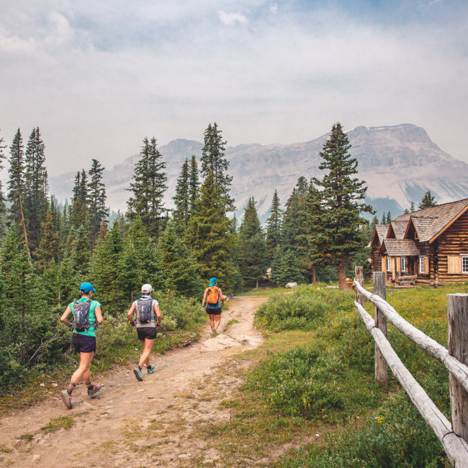skoki lodge running