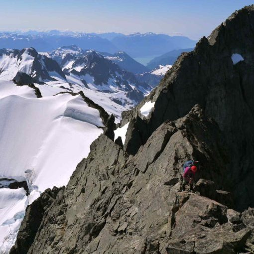 Summit ridge of Tantalus